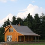 Custom Conventionally Framed Barn by Hayward and Company Clarkesville NH