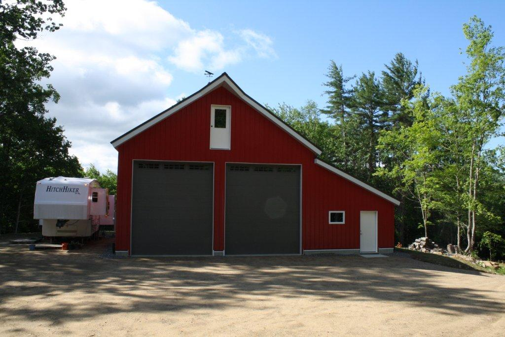 Meredith nh custom structural insulated panel sip barn for Custom barn homes