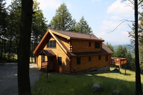 Vermont Hayward And Company Nh Log Timber Homes