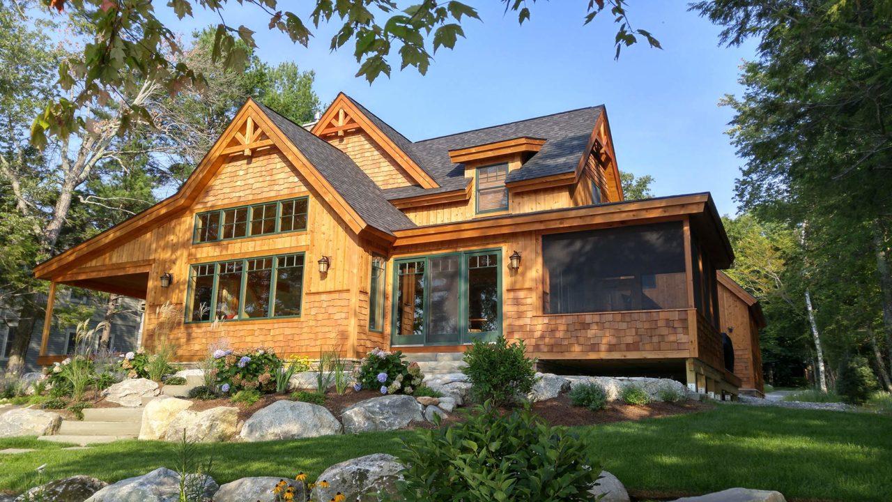 Custom Homes – Hayward and Company – NH Log & Timber Homes