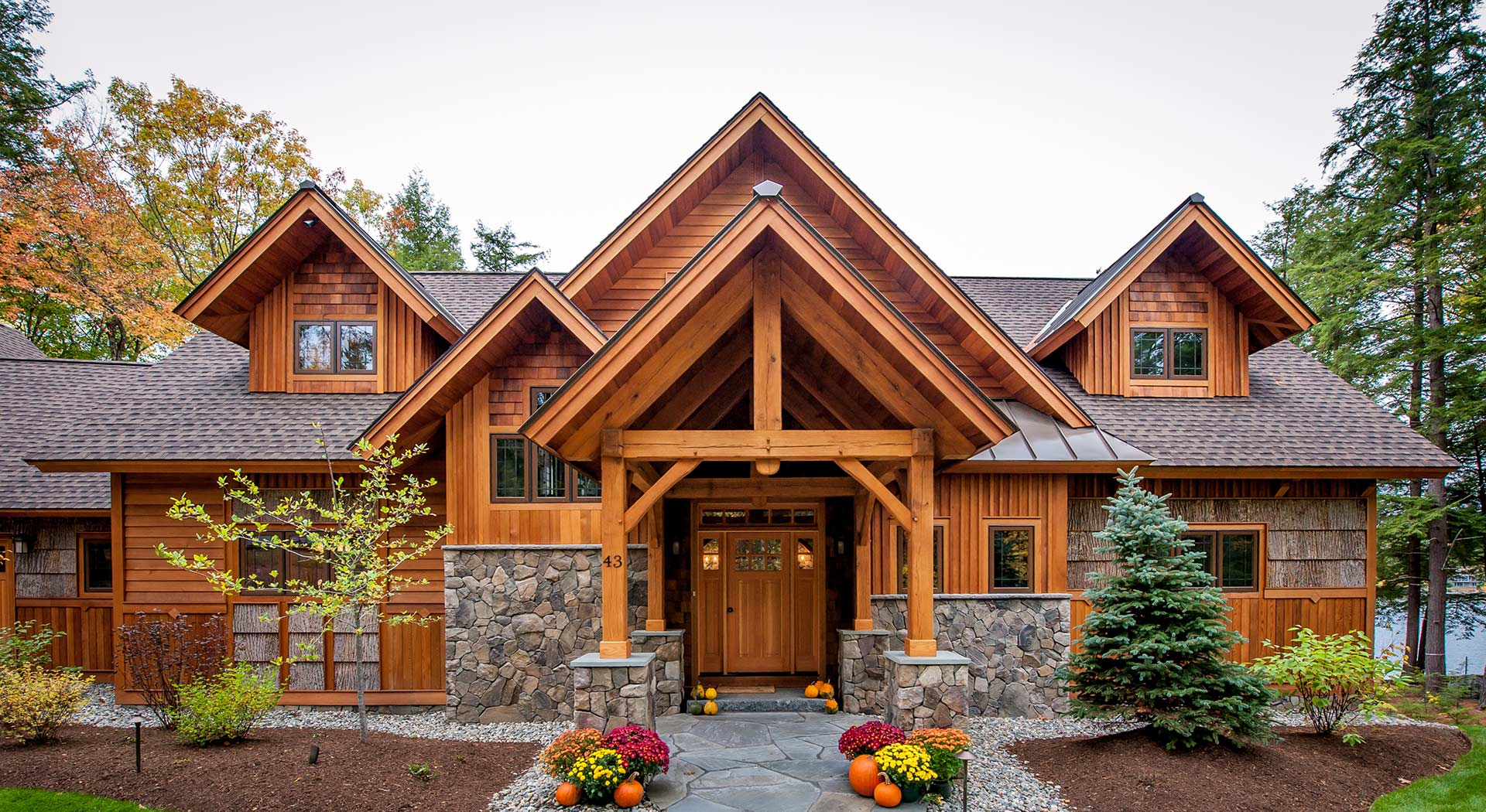 Hayward and company nh log timber homes for Home builders in new hampshire