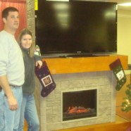 Hayward & Company finishes a new fireplace set for the 2011 Children's Auction