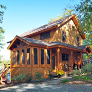 Merrymeeting Lake, NH – Private Timber Frame Residence