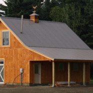Custom Conventionally Framed Barn – Clarksville, NH