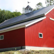 Meredith NH, Custom Structural Insulated Panel (SIP) Barn