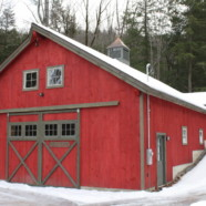 Custom Post and Beam Barn – Hill, NH